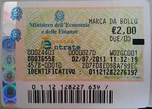Marca da bollo su fatture 2016 mediche minimi e esenti imposta 2 euro